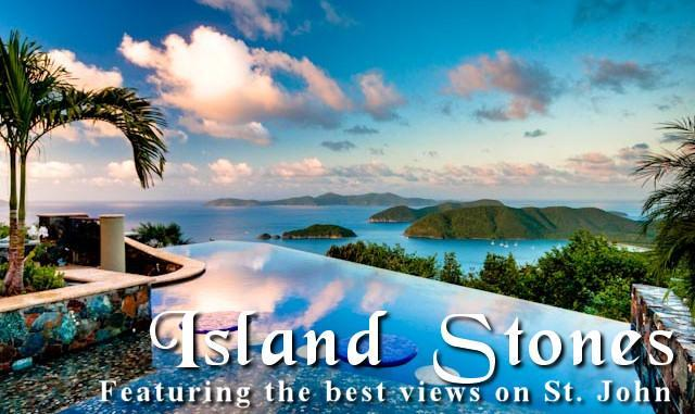 Views over the pool to Cinnamon Bay and the BVI - Catherineberg's Most Luxurious Villa Island Stones - Saint John - rentals