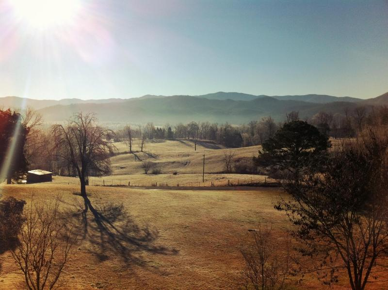 Can't beat waking up to this Winter view from the front deck. - Tennessee's Finest Smoky Mountain Getaway! - Townsend - rentals