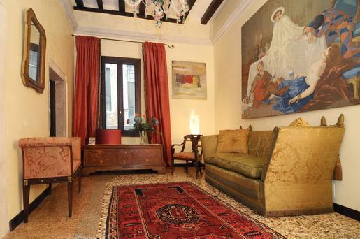 The sitting room - Ca' Delle Carampane - Venice - rentals