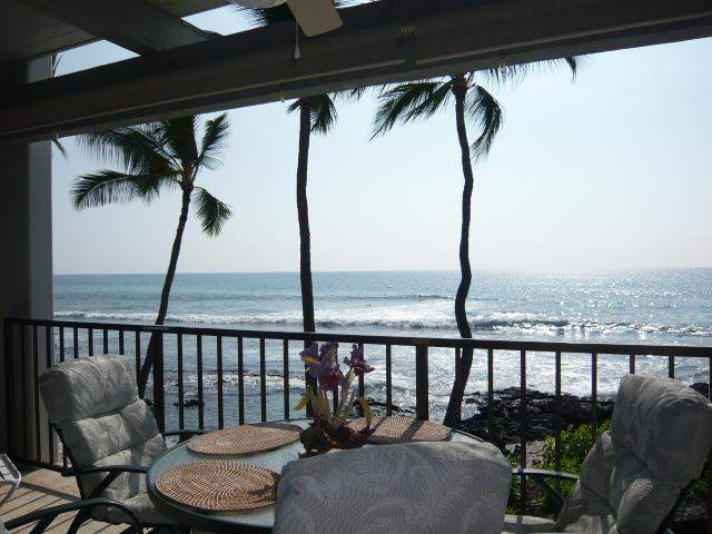 Absolute Ocean Front! - Absolute OCEANFRONT  on  Banyan's Surfing Beach! - Kailua-Kona - rentals