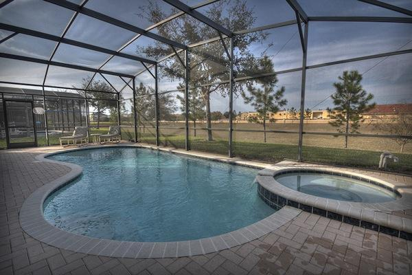 Private Pool with hot tub - Luxury 5BR Villa with Games Room, Pool, Free WiFi - Kissimmee - rentals