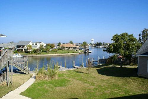 Lovely water views from the condo - Marina Breeze ~ Lovely Waterfront Condo, Boat Slip - Slidell - rentals