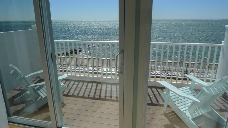 View from the Master Bedroom! - Waterfront/Beachfront Townhouse - 2 miles to Ptown - Truro - rentals