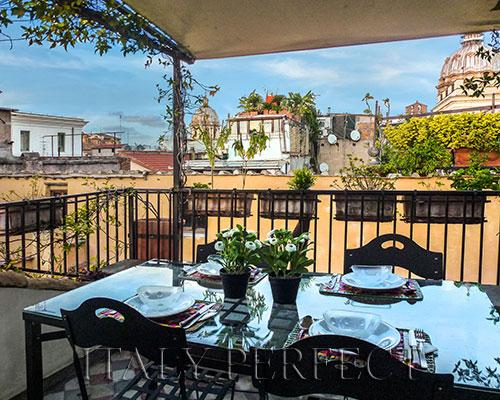 Perfect Terrace-Views-Piazza Navona-Campo Fiori-Da - Image 1 - Rome - rentals
