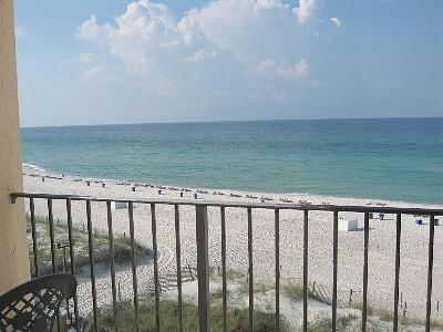 Enjoy the view from your own private balcony - Cozy 2 Bedroom on the Beach with Balcony in Panama City - Panama City Beach - rentals