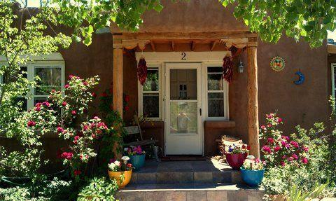 Summer Cottage entrance - Freeman's Cottage - Santa Fe - rentals