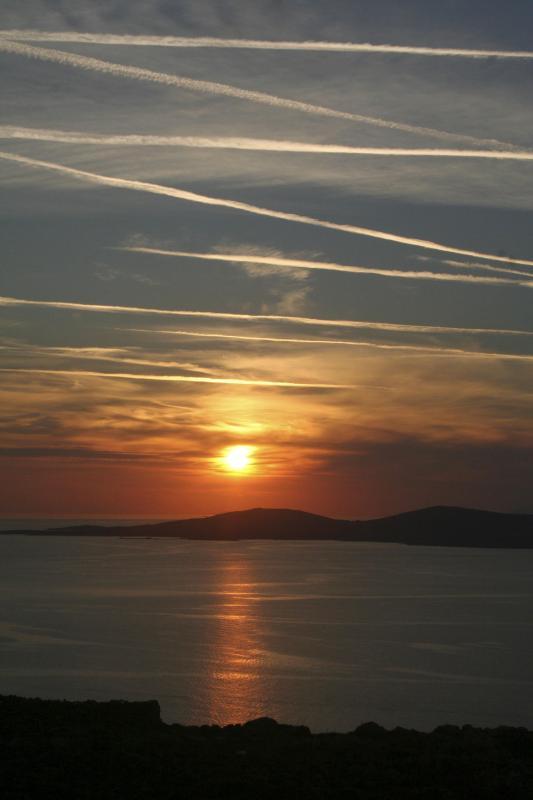 Sunset over Delos - Four Bedroom Mykonos Villa - Ornos - rentals