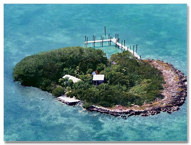 Your Private Island when you rent the 2 bedroom Houseboat - Tropical Private Island w/Houseboat, Boat & Kayaks - Marathon - rentals
