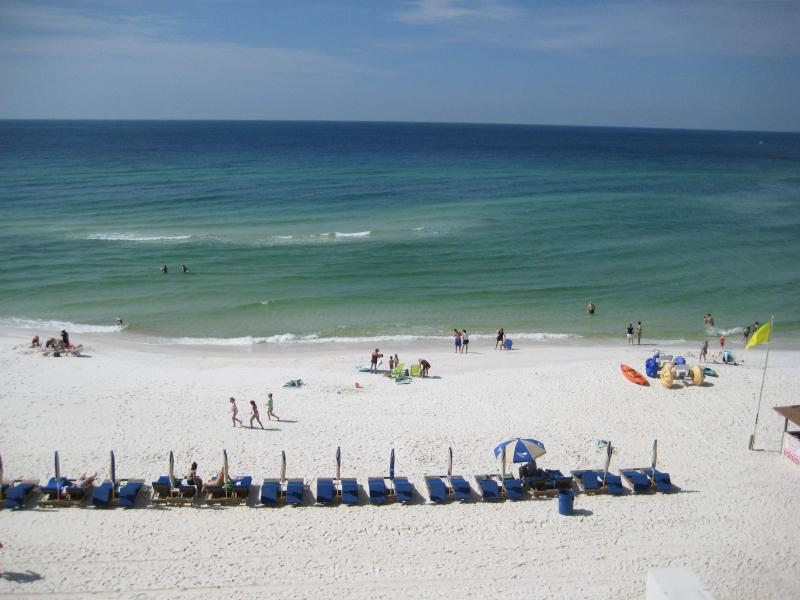 View from our 3rd floor balcony - 3 Bedroom with Free Wifi at Tidewater Beach Resort - Panama City Beach - rentals
