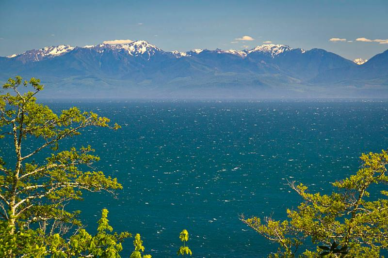Juan de Fuca Strait &; Olympic Mtns. - Orveas Bay Resort Beach House & Cottages - Sooke - rentals