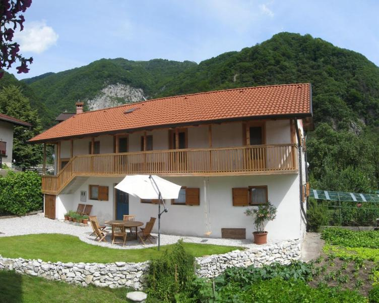 Leban holiday house, Soca Valley, Slovenia - hise LEBAN : Leban self-cattering holiday house - Tolmin - rentals