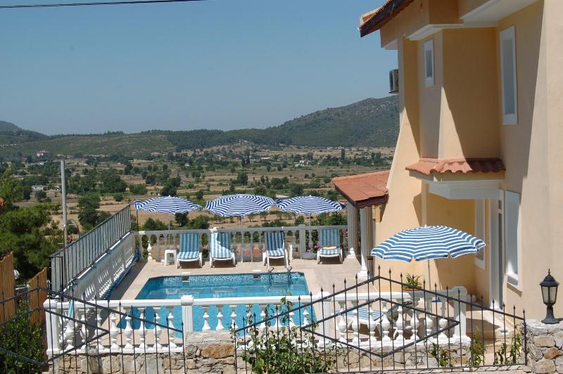 Lovely views across the private pool - Large Holiday Villa with Gym/Games Room in Fethiye - Mugla - rentals