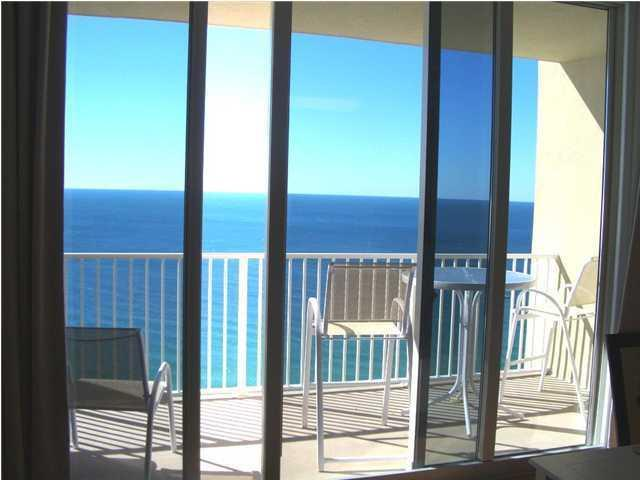 Just like flying above the ocean! - 18ft wide balcony overlooking the Ocean - FALL & WINTER: Oceanfront 2.5br/3ba/9p Lux Condo! - Panama City Beach - rentals
