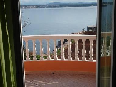 A1(2+2): balcony view - 2839 A1(2+2) - Tkon - Tkon - rentals