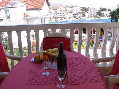 A4(4+1): terrace - 2848  A4(4+1) - Grebastica - Grebastica - rentals