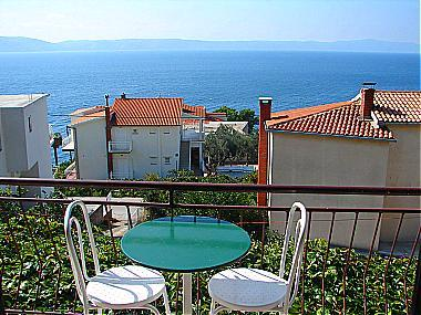 A3(2): balcony view - 00313ZIVO A3(2) - Zivogosce - Zivogosce - rentals