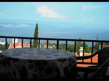 A3(2+3): terrace view - 2856  A3(2+3) - Lovran - Lovran - rentals