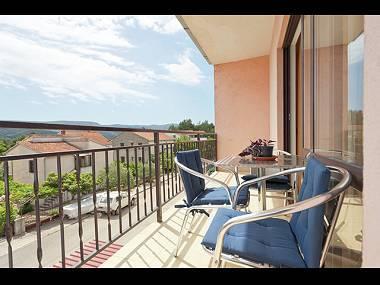 A2(3+1): covered terrace - 2855  A2(3+1) - Stari Grad - Stari Grad - rentals