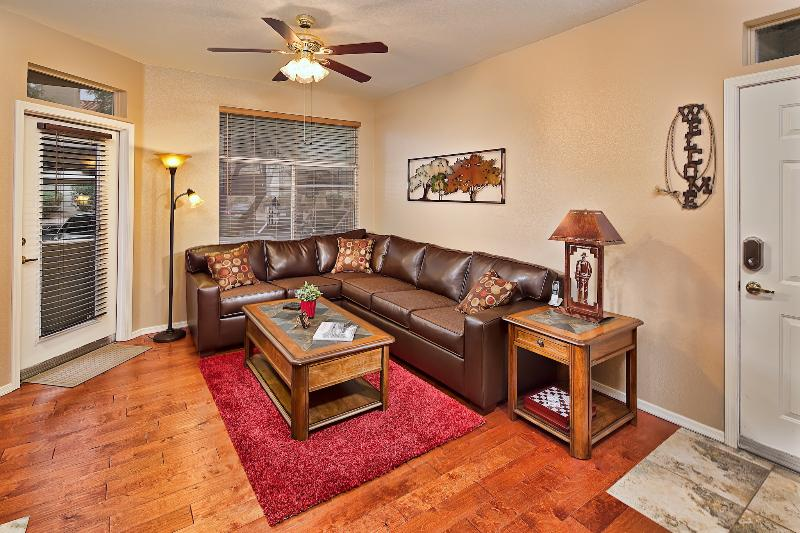 Spacious Living Area with Sleeper Sofa - Flash Promo 15% Off Now | Huge Pool, Prime Area - Scottsdale - rentals