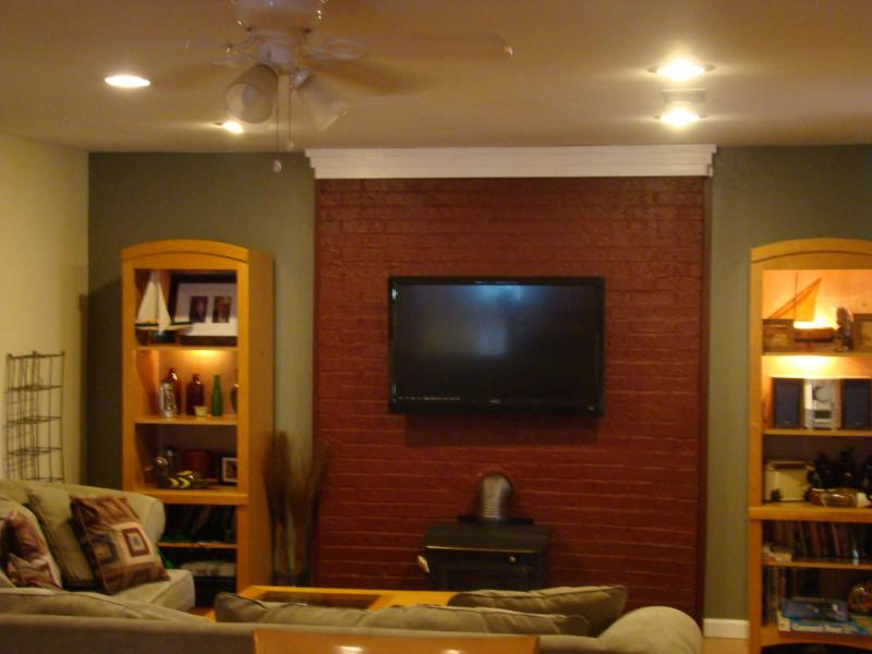 Open Living Room - 2 Bedroom Cottage near Lake Wedowee/Cheaha area - Lineville - rentals