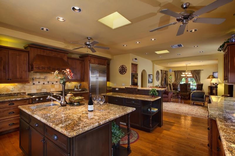 Upgraded kitchen with granite counters, solid wood cabinets, gas stove, more! - Flash Promo - Additional Savings! Huge Pool, Hot Tub, Bocce Court, Pool Table - Scottsdale - rentals