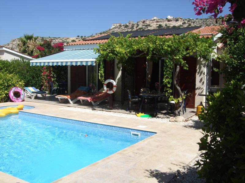 Villa Pilgrims Poolside - luxury private 3 bedroom villa with heated pool - Peyia - rentals