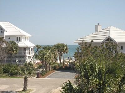 View From East Deck - Hot Deal:  February 26-March 11- $1700! March 4-11-$1050, March 18-25 - $1590! - Saint George Island - rentals