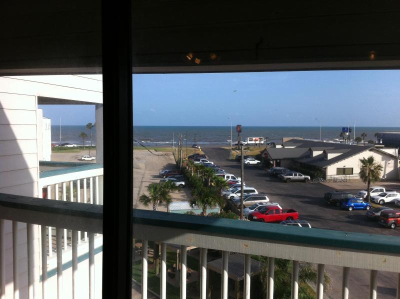view from inside - STRESS FREE ZONE  Galveston, TX rental - Galveston - rentals