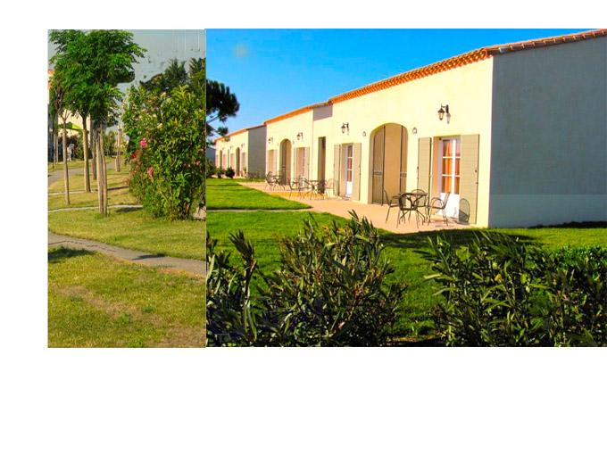 Views from front of chalet - Two Bed House in South of France - Gallargues-le-Montueux - rentals