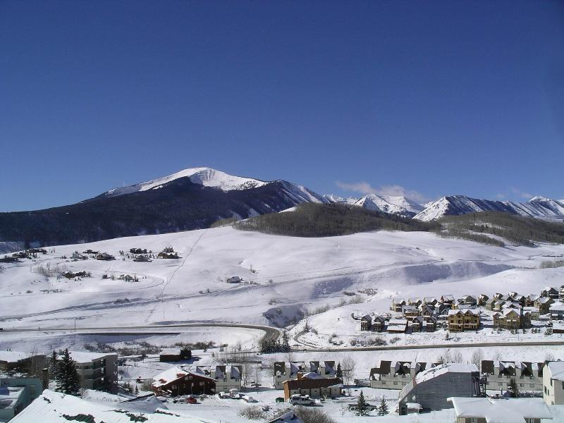 View From Balcony - Crested Butte Ski Condo - Crested Butte - rentals