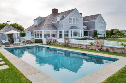 EEL POND ESTATE: WATERFRONT COMPOUND WITH POOL & PRIVATE BEACH - EDG HGAR-117 - Image 1 - Martha's Vineyard - rentals