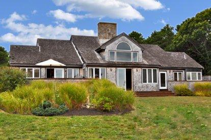 FARM NECK CONTEMPORARY WITH WATER & GOLF VIEWS - OB FCON-10 - Image 1 - Oak Bluffs - rentals