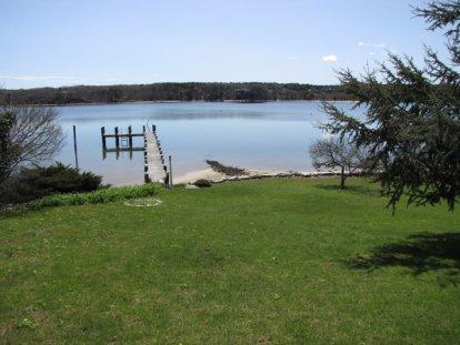HINES POINT CLASSIC WATERFRONT HOME WITH PRIVATE BEACH, DOCK AND MOORING - VH NBIN-57 - Image 1 - Vineyard Haven - rentals