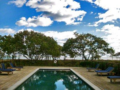 EASTER POINT: WATERFRONT COMPOUND WITH POOL, LOOKOUT TOWER & PRIVATE BEACH - EDG WDAR-11 - Image 1 - Edgartown - rentals