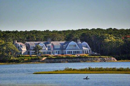 WATERHAVEN: GRAND WATERFRONT ESTATE WITH INFINITY POOL, PRIVATE BEACH & CARRIAGE HOUSE - EDG PROS-96 - Image 1 - Martha's Vineyard - rentals