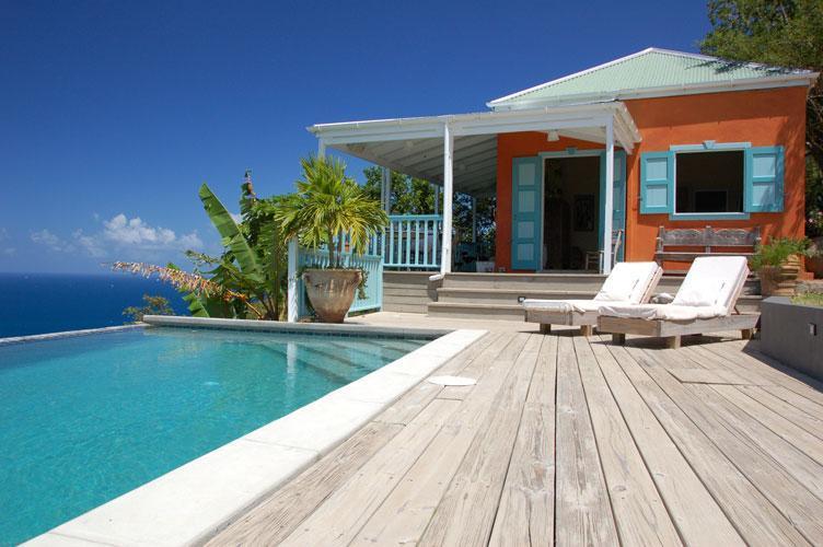 pool and deck - Kerensa Villa - West End - rentals