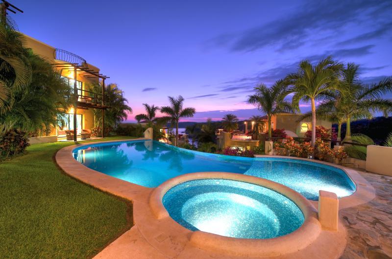 Casita - Poolside Area - 5 Charming Ocean View Casitas, Las Palmas, w Beach - Huatulco - rentals