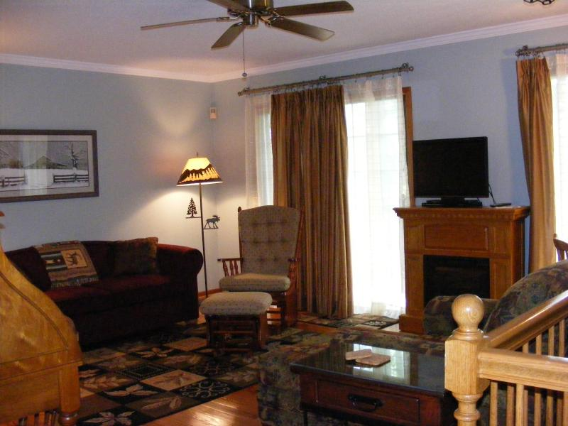 Living Room - CHARMING LAKE LURE, NC MOUNTAIN CONDO - Lake Lure - rentals