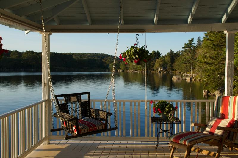 In the midst of winter, close your eyes and dream of an afternoon right here! - Lakeside Cottage on Maine's Down East Coast - Sedgwick - rentals