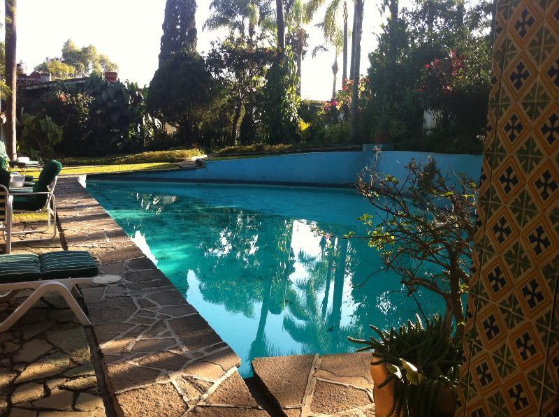 Pool View - Villa Azteca Authentic Mexican Casa in Great Location! - Cuernavaca - rentals