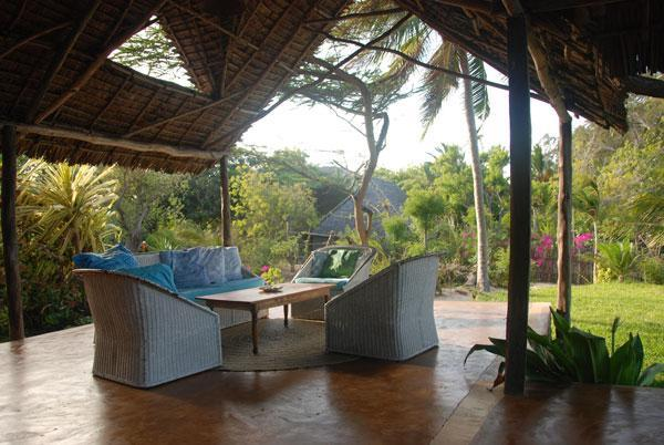 Cicada living room - Beachfront Cicada House, Shela  Lamu - Lamu - rentals