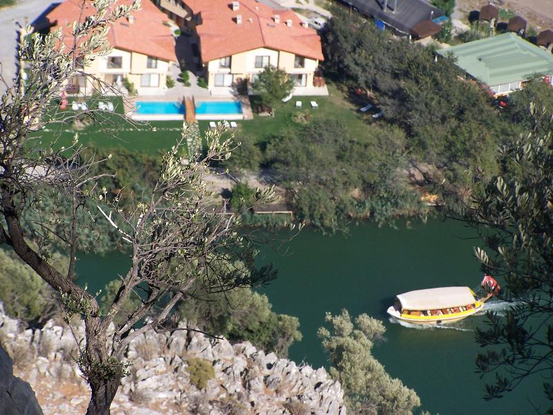 riverside houses - Villa (sleeps 6) at Dalyan center by riverside - Dalyan - rentals