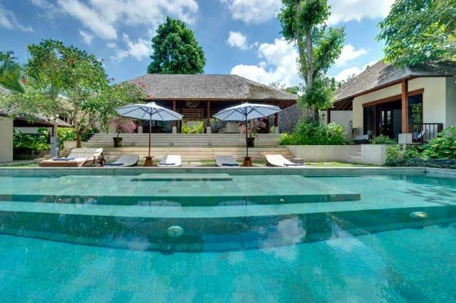 Villa Bunga Pangi from the Pool - Villa Bunga Pangi Bali Canggu modern luxury 4bdr - Canggu - rentals