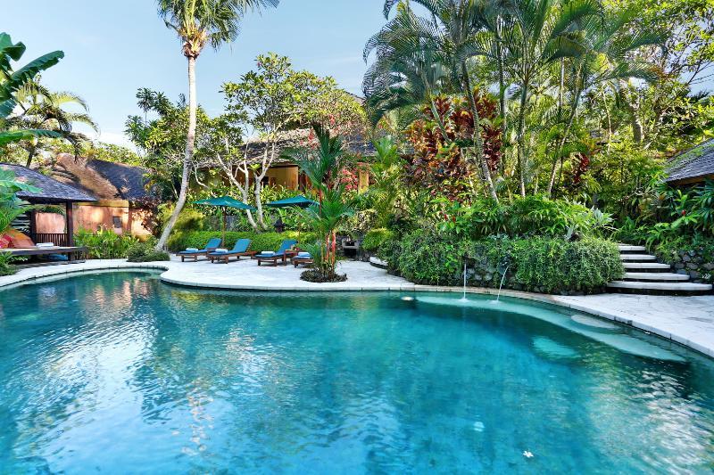 Villa Bunga Wangi from the Pool - Villa Bunga Wangi 3bdrm Canggu Bali near Seminyak - Canggu - rentals