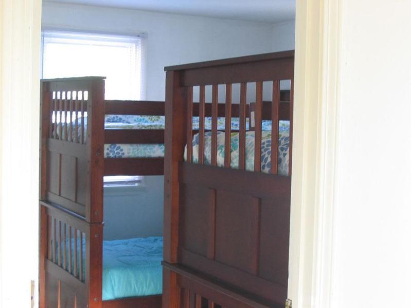 Bedroom 2, 2 sets of bunks - Waterfront First Floor sleeps 8 - Salisbury - rentals
