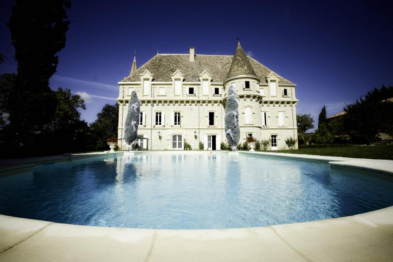 Chateau Plombis - Luxury Chateau: 8 bedrooms, private pool & tennis - Castelsagrat - rentals