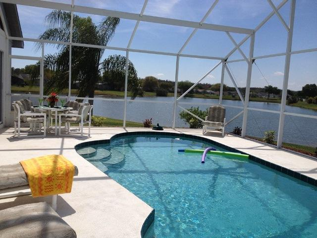Pool with Lake view - This Lake view Pool home has it All! - Kissimmee - rentals
