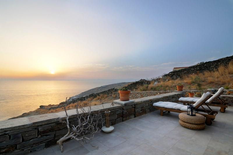 Greek island luxury vacation on private beach VA - Image 1 - Koundouros - rentals
