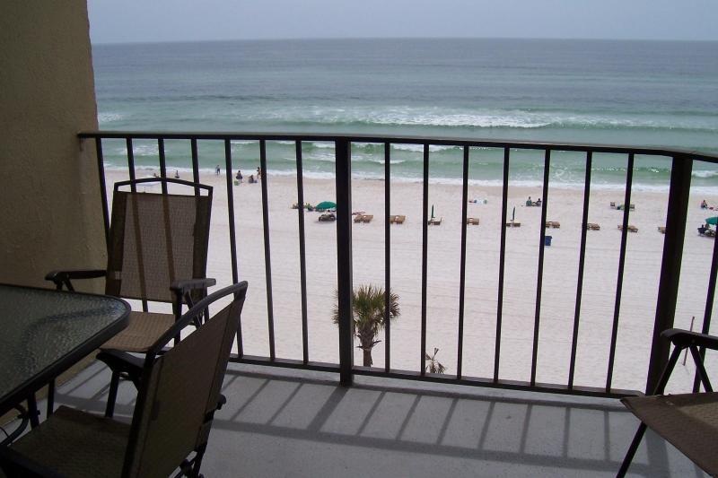 View from Balcony - 6th Floor Condo with Great Beach View - Panama City Beach - rentals