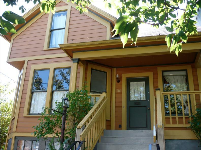 Front - Modern Victorian Duplex - Portland - rentals